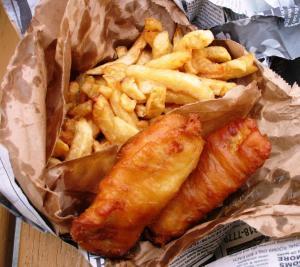Irlandzkie święto ryby z frytkami