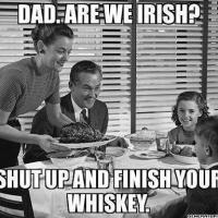 Irlandczyk pęłną gębą - część I