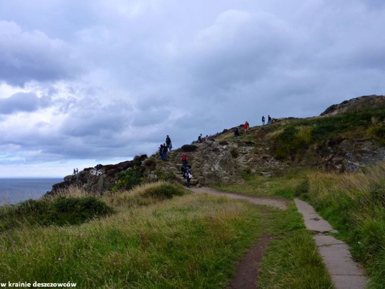 poczatek cliff walk (1)
