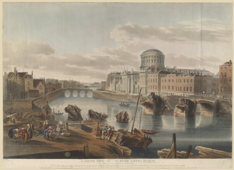 the river liffey 1802