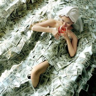 rich-woman-bathing-in-dollars