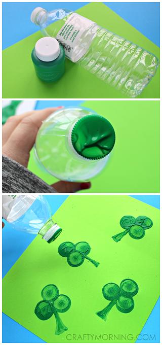 water-bottle-shamrock-stamp-st-patrick-craft