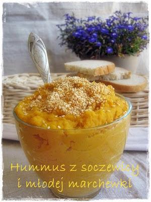 soczewica, młoda marchewka, zdrowe jedzienie, Przepiśnik kuchenny