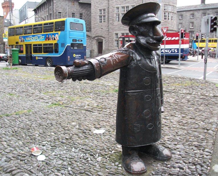 pomnik, Statue, Dublin