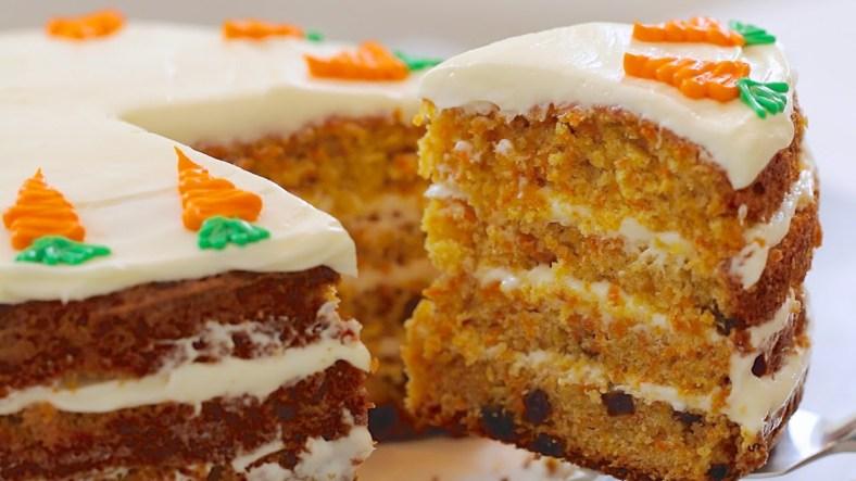 deser, ciasto, marchewka, lukier