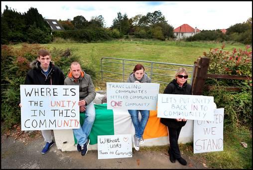 Carrickmine-protesters