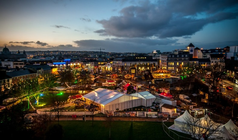Galway Christmas Market 2015. Photo: Reg Gordon