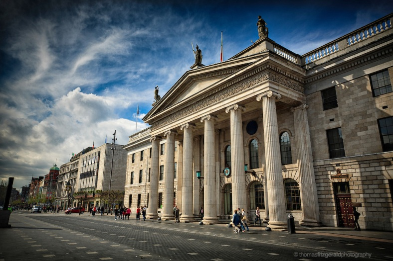 GPO and O'Connell St. Dublin City