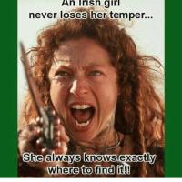 Kobieta po irlandzku